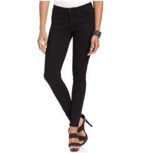 Levi's Mid Rise Skinny Legging Smooth Black 4S W27